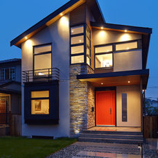 Contemporary Exterior by VictorEric