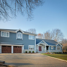 Traditional Exterior by Creative Design Construction, Inc.