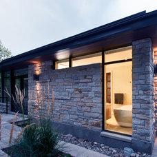 Contemporary Exterior by Southam Design Inc