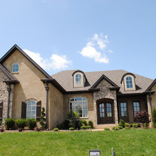 Traditional Exterior by Hillside Homes Inc