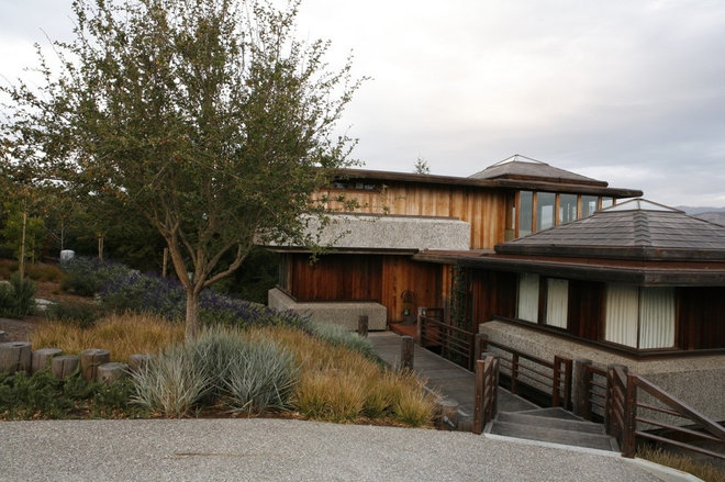 Contemporary Exterior by Jeffrey Gordon Smith Landscape Architecture