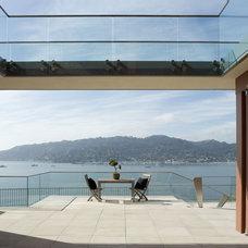 Rustic Exterior by Sutton Suzuki Architects