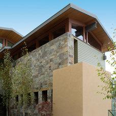 Midcentury Exterior by Sutton Suzuki Architects