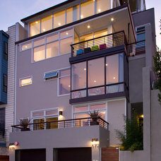 Contemporary Exterior by Kimball Starr Interior Design