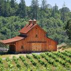 Hilltop Barn in California