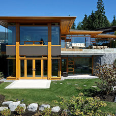 Contemporary Exterior by Don Stuart Architect Inc