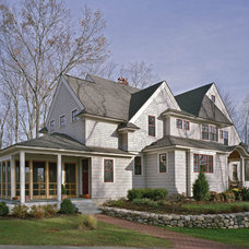 Traditional Exterior by SAVOIE Architecture