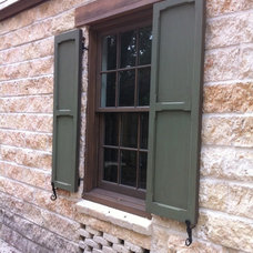 Mediterranean Exterior by All About Windows Inc