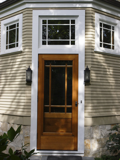 Wood Storm Door Home Design Ideas Pictures Remodel And Decor