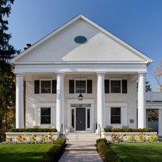 Traditional Exterior by Buckingham Interiors + Design LLC