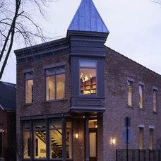 Eclectic Exterior by Hirsch Associates LLC