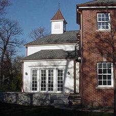 Traditional Exterior by Hirsch Associates LLC