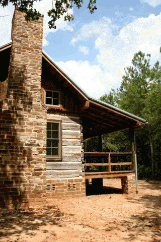 Historic 1856 39 dog trot 39 log home restoration for Log cabin restoration