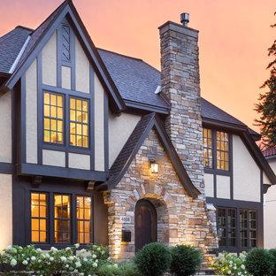 Ispirazione per la facciata di una casa classica
