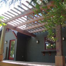 Craftsman Exterior by Creative Eye Design + Build, LEED AP, CGBP
