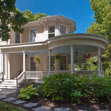 Historic exterior renovation