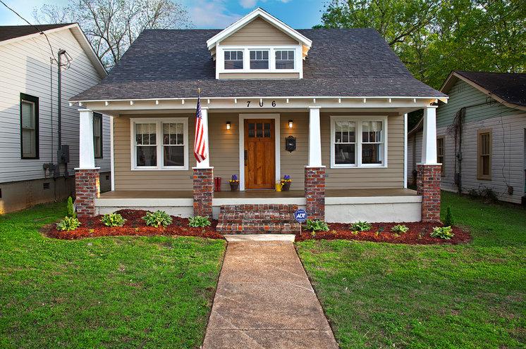 Craftsman Exterior by Banta Builders LLC