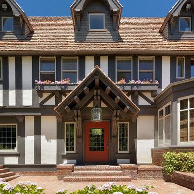 Elegant three-story exterior home photo in San Francisco