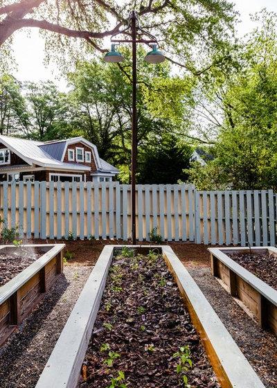 Farmhouse Exterior by Dandeneau Architecture P.L.L.C.