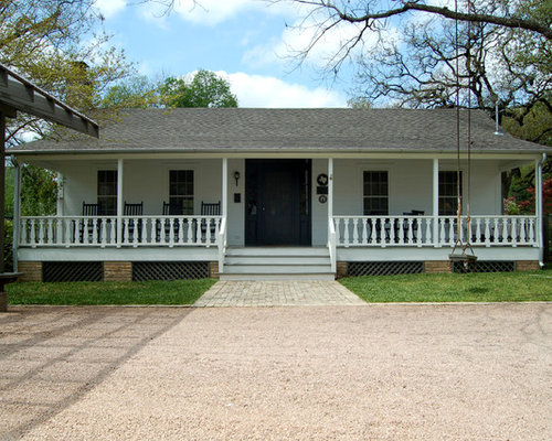 Ranch porch home design ideas pictures remodel and decor for Back portico ranch