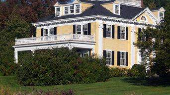 Historic New England Mansion