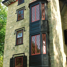 Traditional Exterior by Pine Street Carpenters & The Kitchen Studio