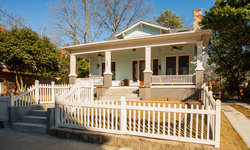 Historic Whole House Renovation - Front Exterior of Bungalow