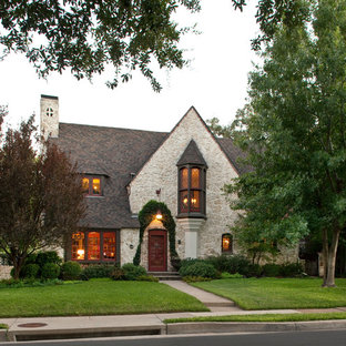 Inspiration for an eclectic exterior home remodel in Dallas