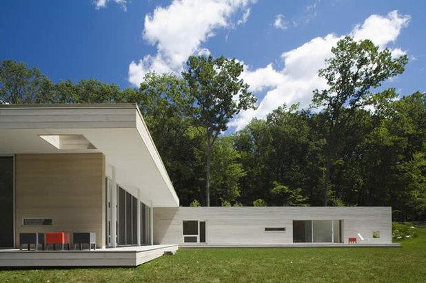 Moderno Fachada by Hanrahan Meyers Architects