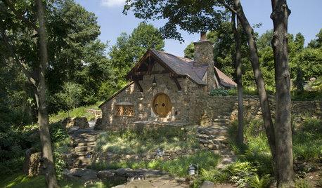 Houzz Tour: 'Hobbit House' in Pennsylvania Countryside