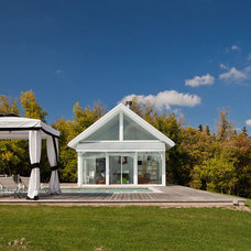 Farmhouse Exterior by Peter A. Sellar - Architectural Photographer