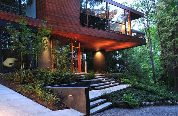 Moderno Fachada by 2.ink Studio | Landscape Architecture