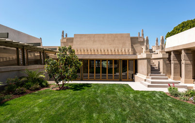 Houzz TV: Tour Frank Lloyd Wright's Jaw-Dropping Hollyhock House