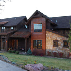 Traditional Exterior by PATH21 Architecture