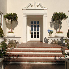 Traditional Exterior by Timothy Corrigan, Inc.