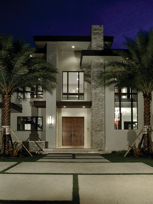 Contemporary exterior design ideas remodels photos for Exterior design house pictures