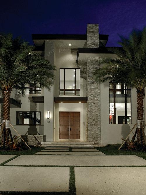 Contemporary exterior design ideas remodels photos for Casas modernas llc west 12th street dallas tx