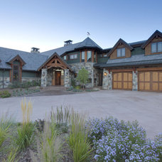 Traditional Exterior by Hufker Photo