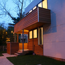 Contemporary Exterior by Boehm Architecture
