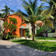 Tropical Exterior by Architectural Design Consultants
