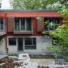 Contemporary Exterior by Homes By Architects Tour