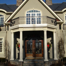 Rustic Entry by Design Build Pros