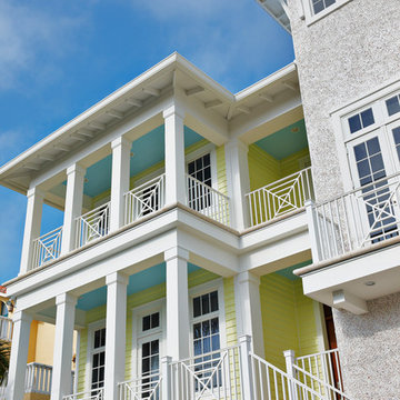 Home Builders in Tampa - Alvarez Homes - The Milkey Front View