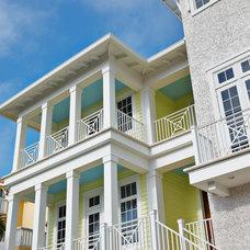 Contemporary Exterior by Alvarez Homes