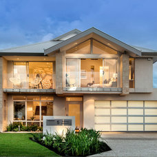 Contemporary Exterior by Webb & Brown-Neaves