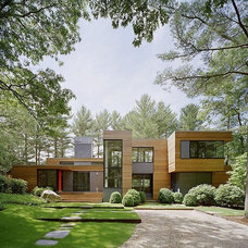 contemporary exterior by ARS Remodeling & Glass