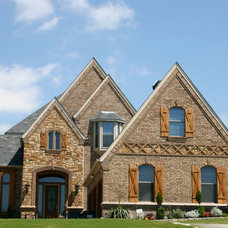 Traditional Exterior by Royal Crest Custom Homes
