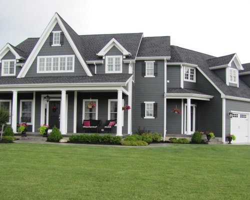 Iron gray hardie ideas pictures remodel and decor for James hardie exterior design center