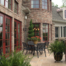 Traditional Patio by Hughes Edwards Builders