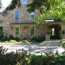 Traditional Exterior by LIFE HOME DESIGN